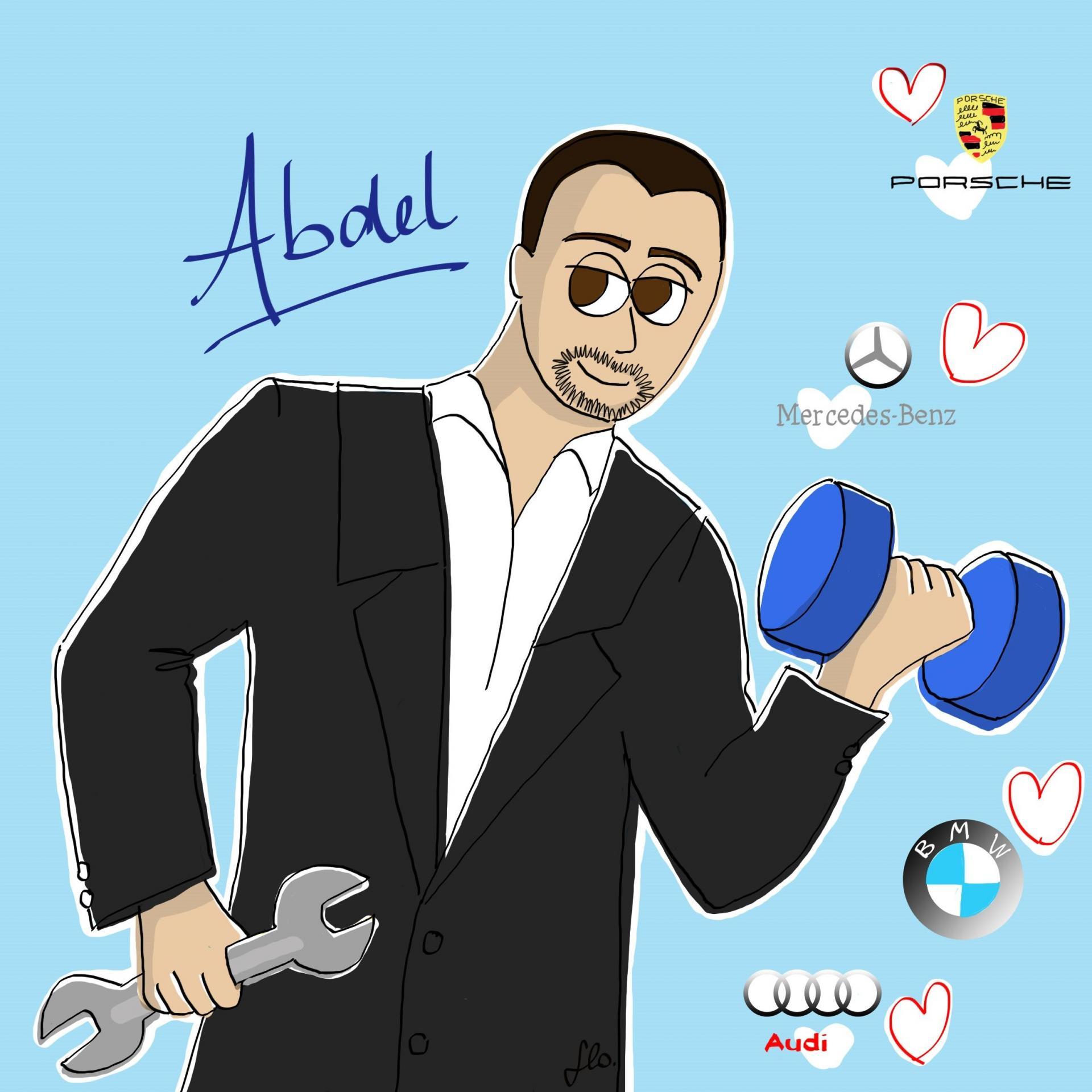 Illustration abdel compressor